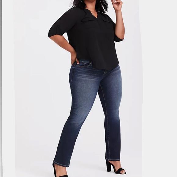Torrid Bootcut Denim Blue Jeans Size 18